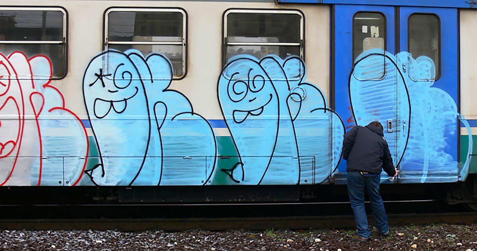 Rave party, graffiti, prison: rencontre avec Oker