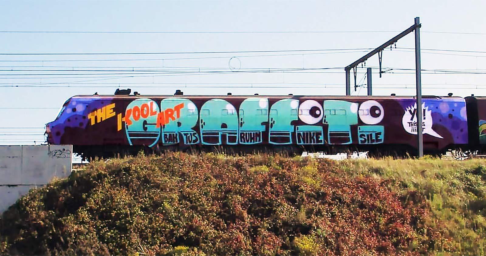 Graffiti can't be stopped!