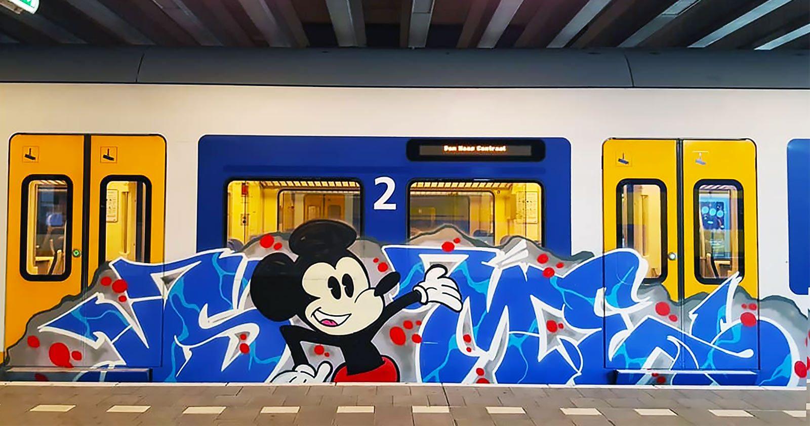Mickey Graffiti Mania