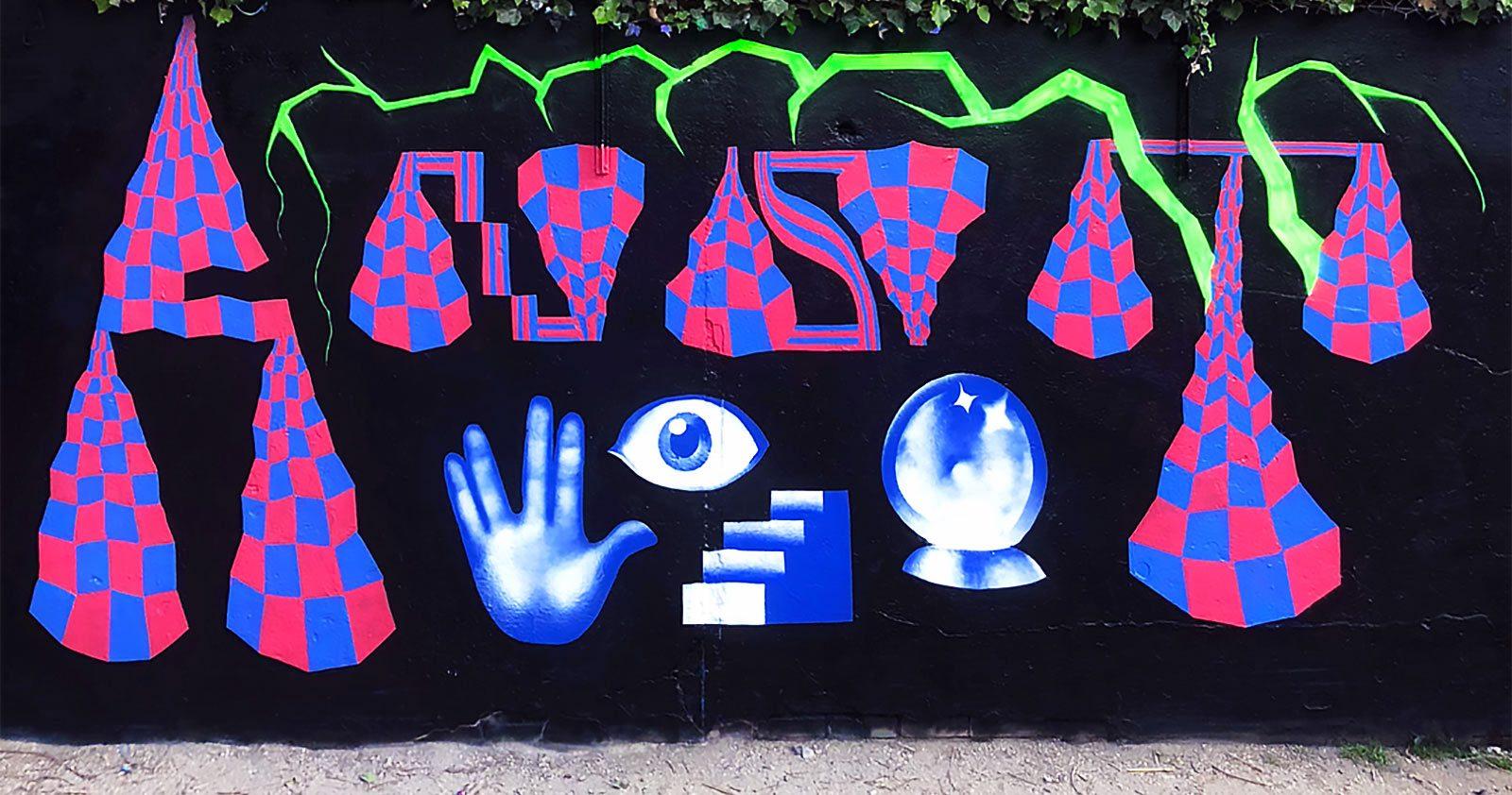 Ernest Illm, à la croisée du Graffiti et des Arts Numériques