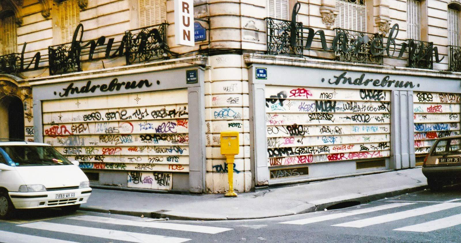 Quand Paris était couvert de tags, ou la nostalgie des 90's