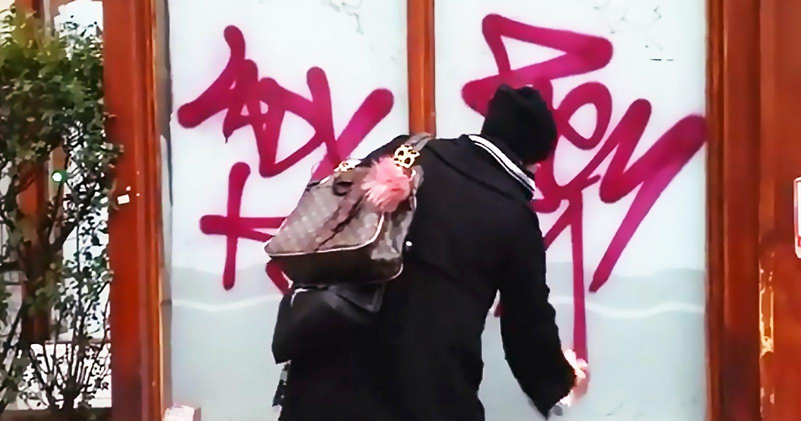 Le Graffiti, un truc de mec? On a demandé à Lady K