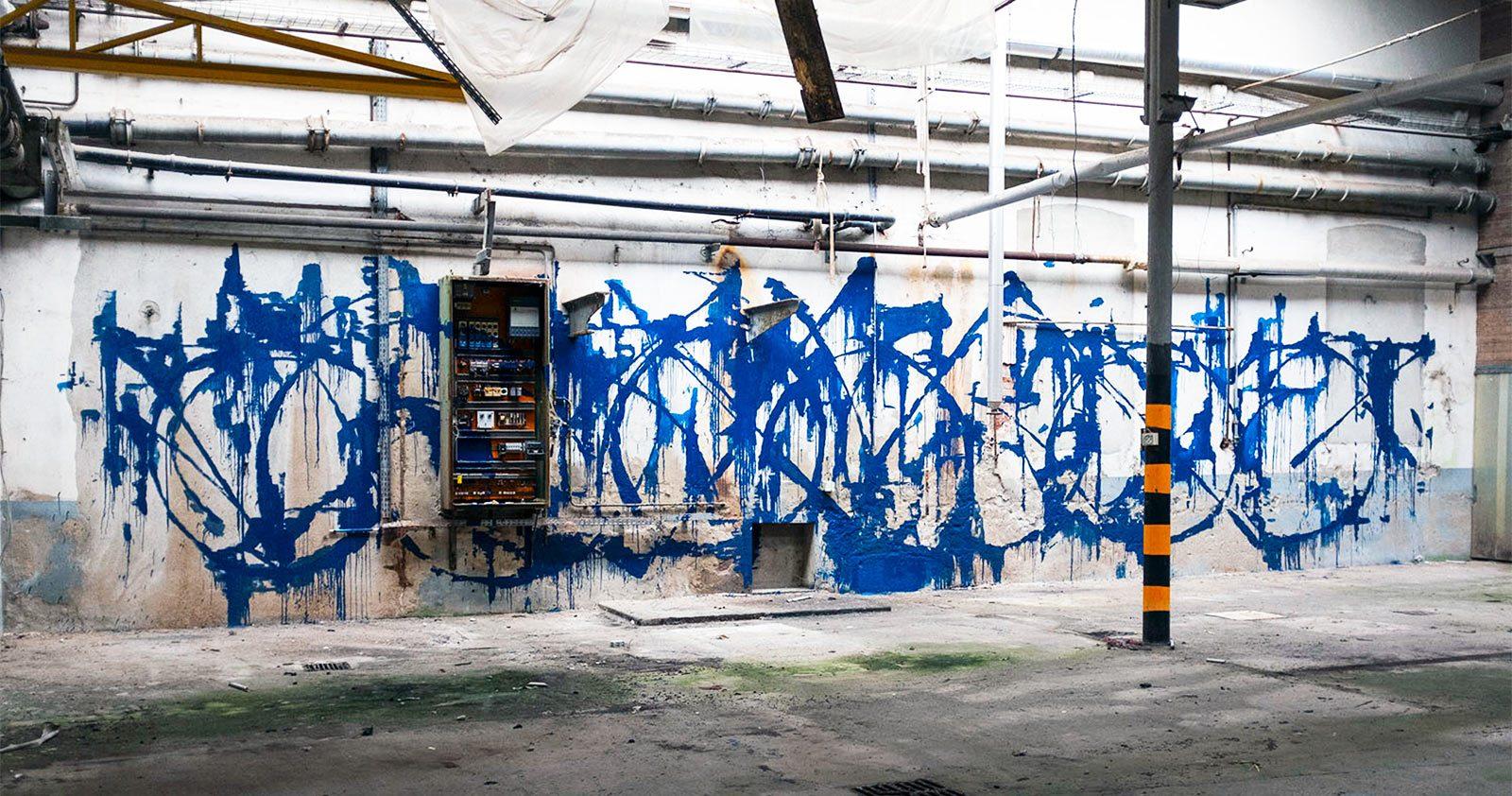 Soemone, Graffiti abstrait et calligraphie