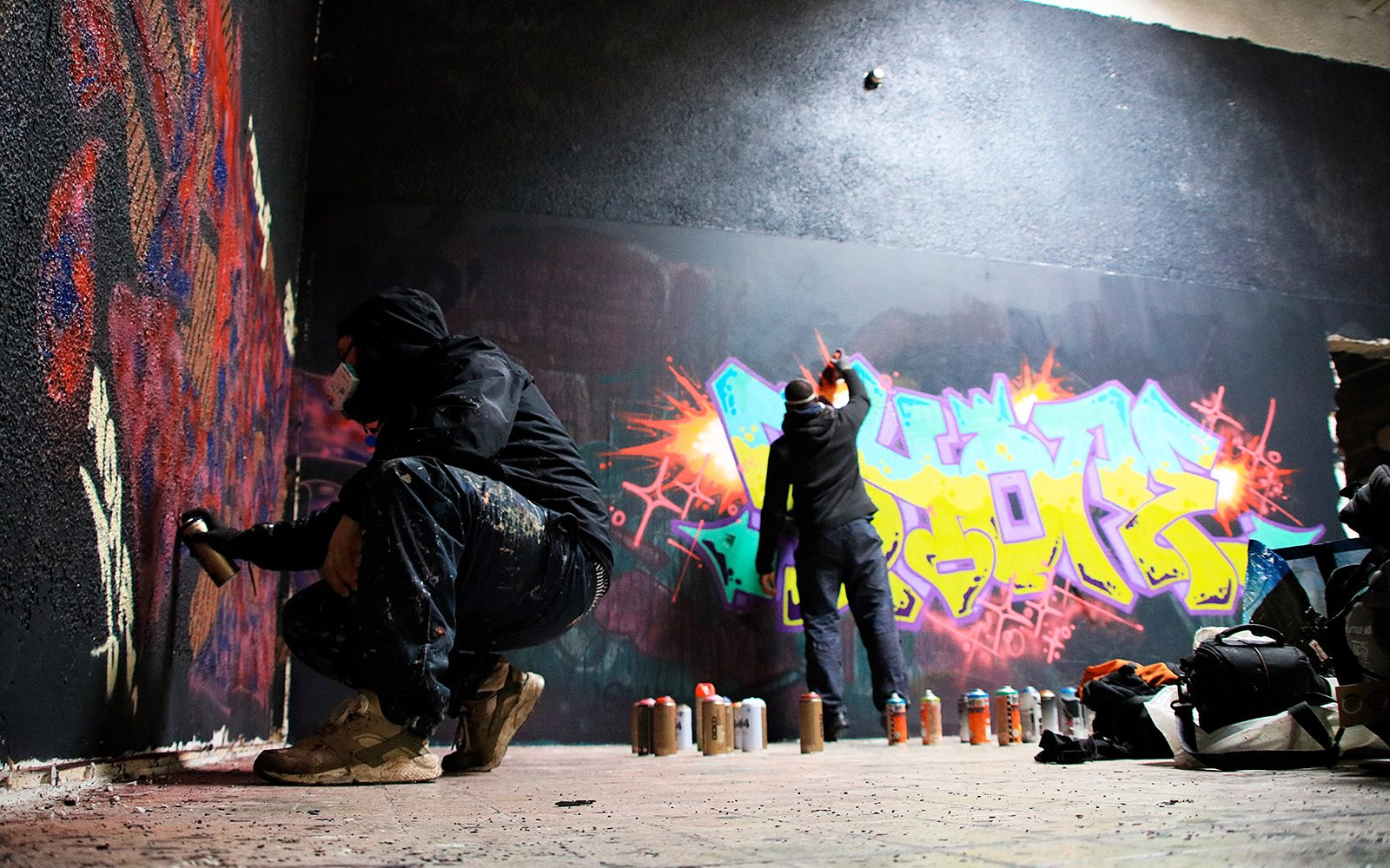 Jam Sauvage: Le Graffiti résiste... avec l'aide des Gilets Jaunes!
