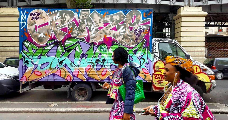 Camions parisiens: quoi de neuf en 2017?