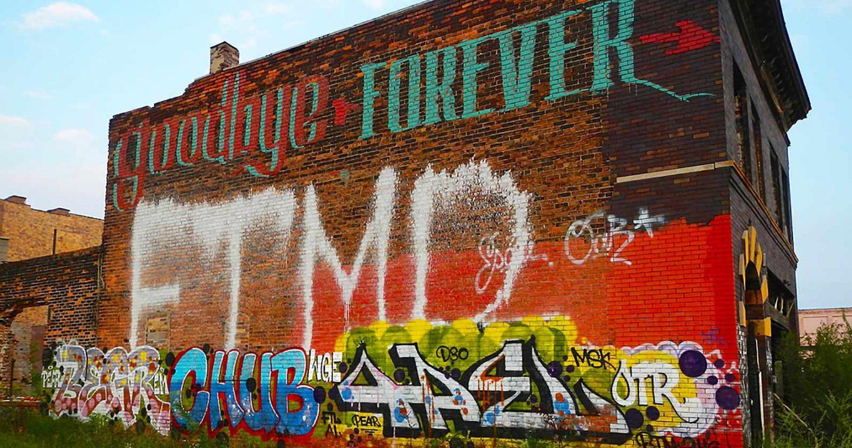 La mort annoncée du graffiti à Detroit
