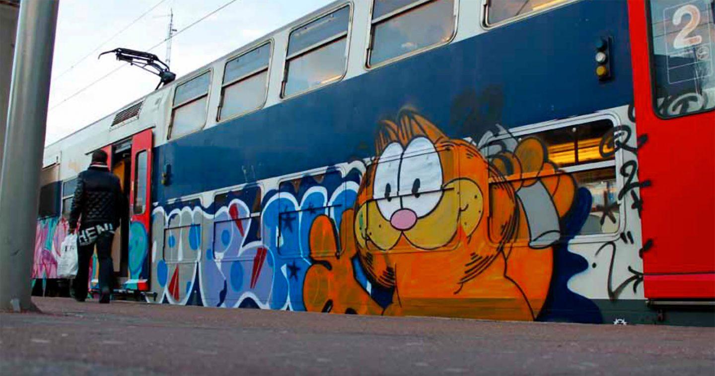 Fallait pas l'inviter: Garfield