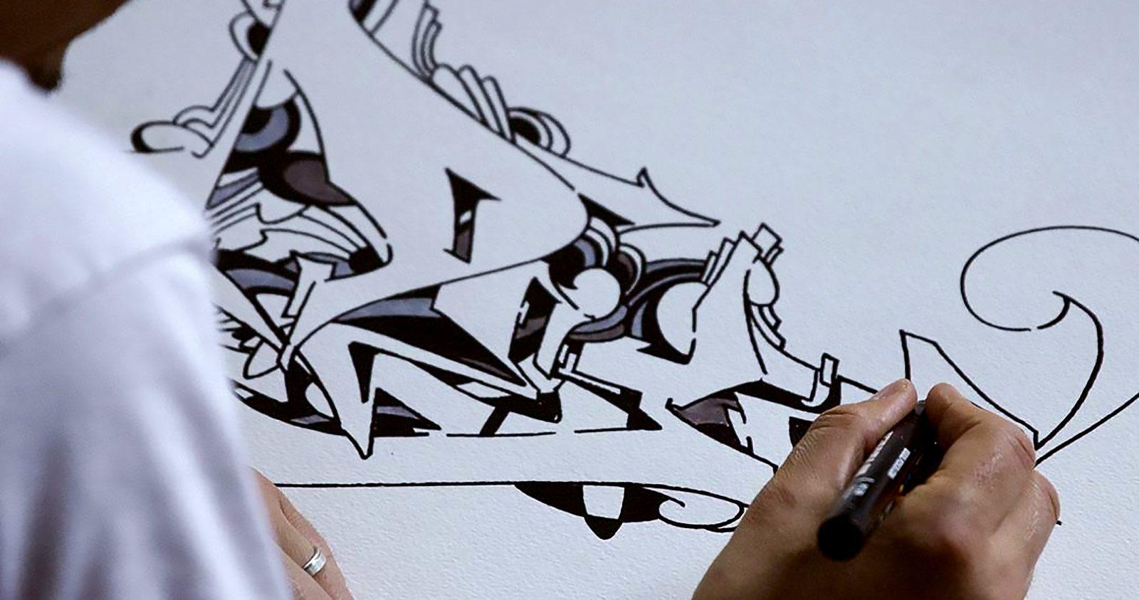A la base du style, noir sur blanc