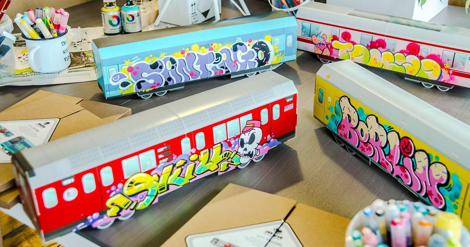Bienvenue au club Graffiti & Modélisme