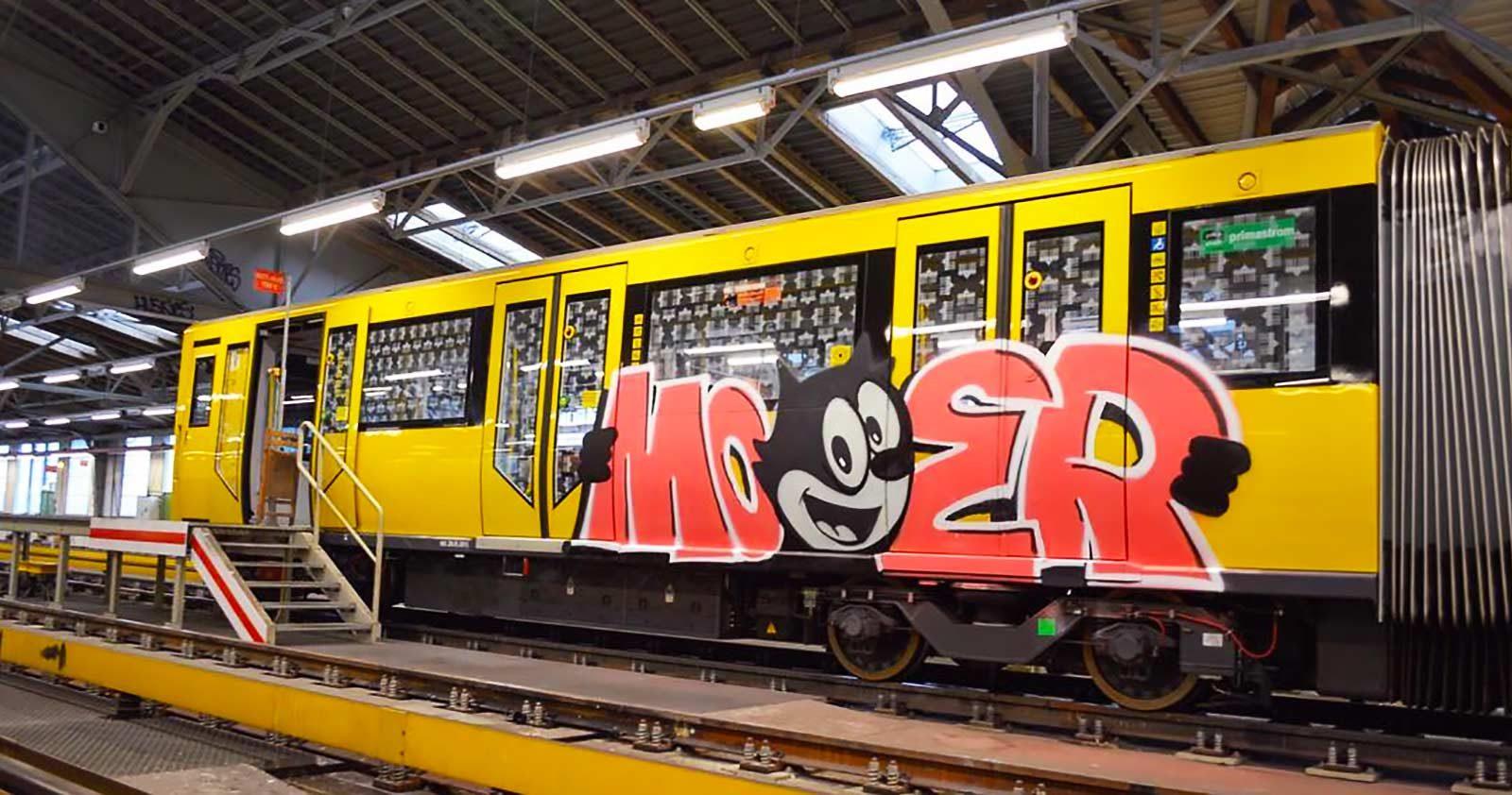 La folle histoire de Félix Le Chat, version graffiti