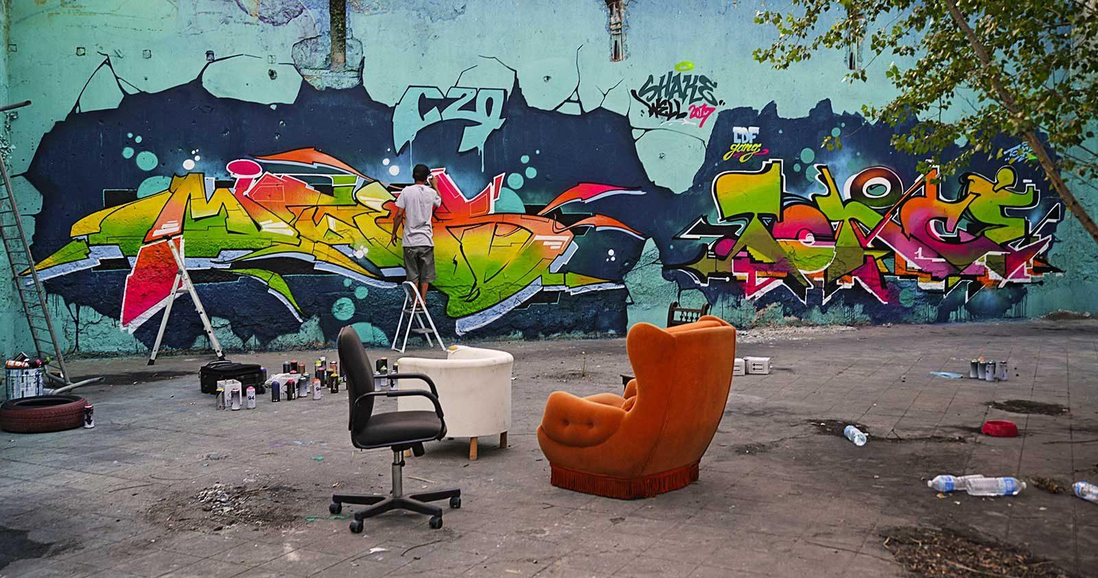 Quand le Shake Well Festival secoue le Graffiti bordelais
