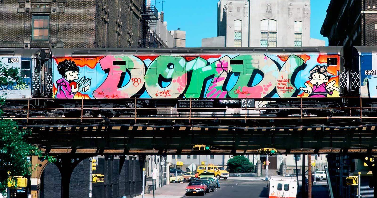 New York années 80, les persos de Vaughn Bodé prennent le métro