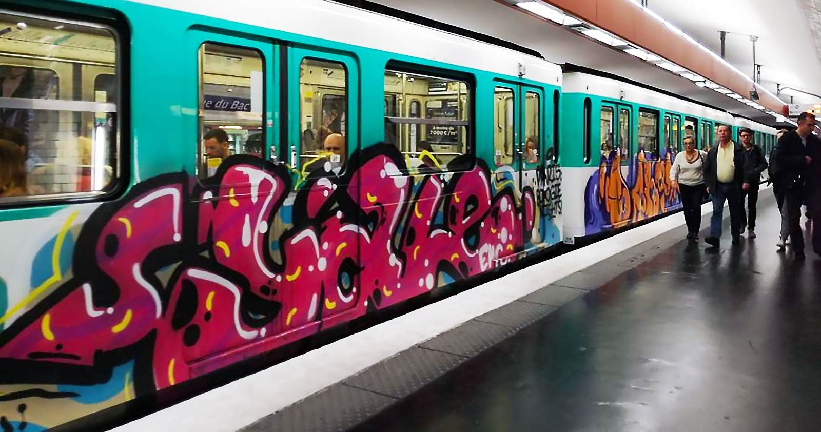 Métro Parisien: La 12 en overdose