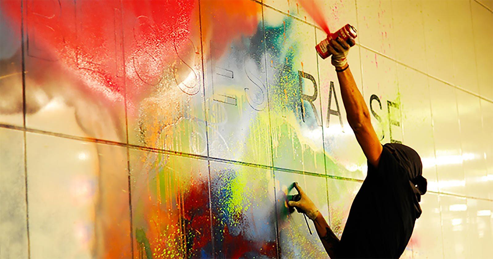 Rocco & ses Frères basculent du Graffiti au Guerilla Art