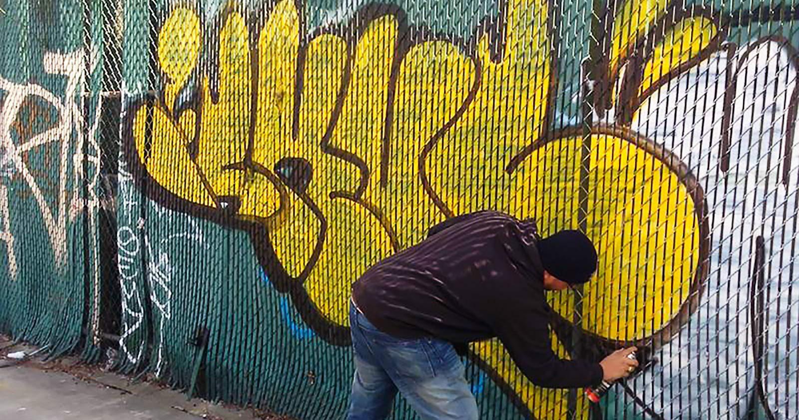 Destruction, style & violence: Skuf raconte le Graffiti à New York dans les 90's