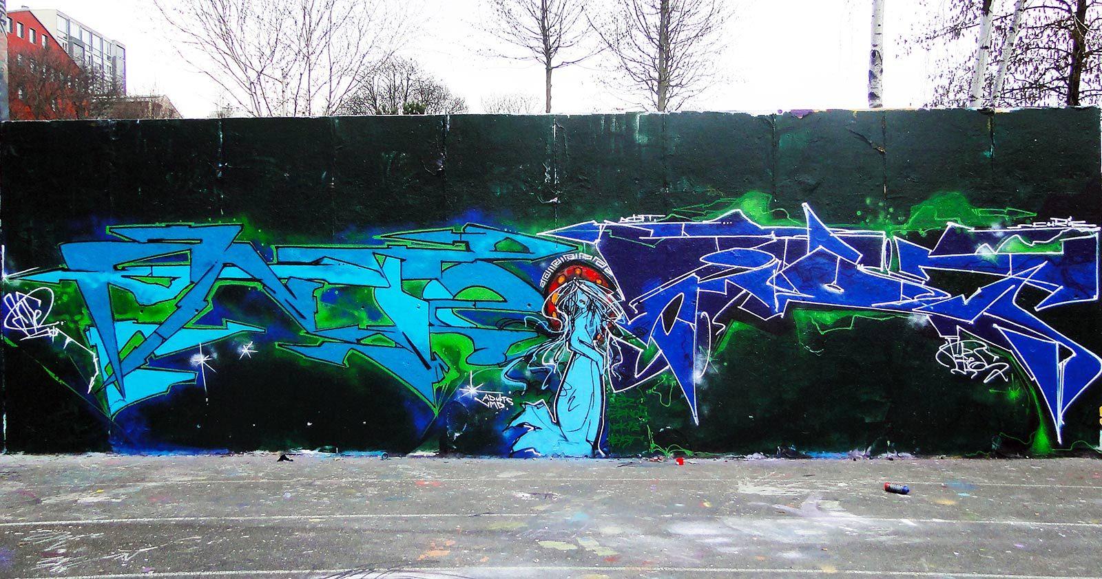Avec Ante & Kerts, les jumeaux français du graffiti