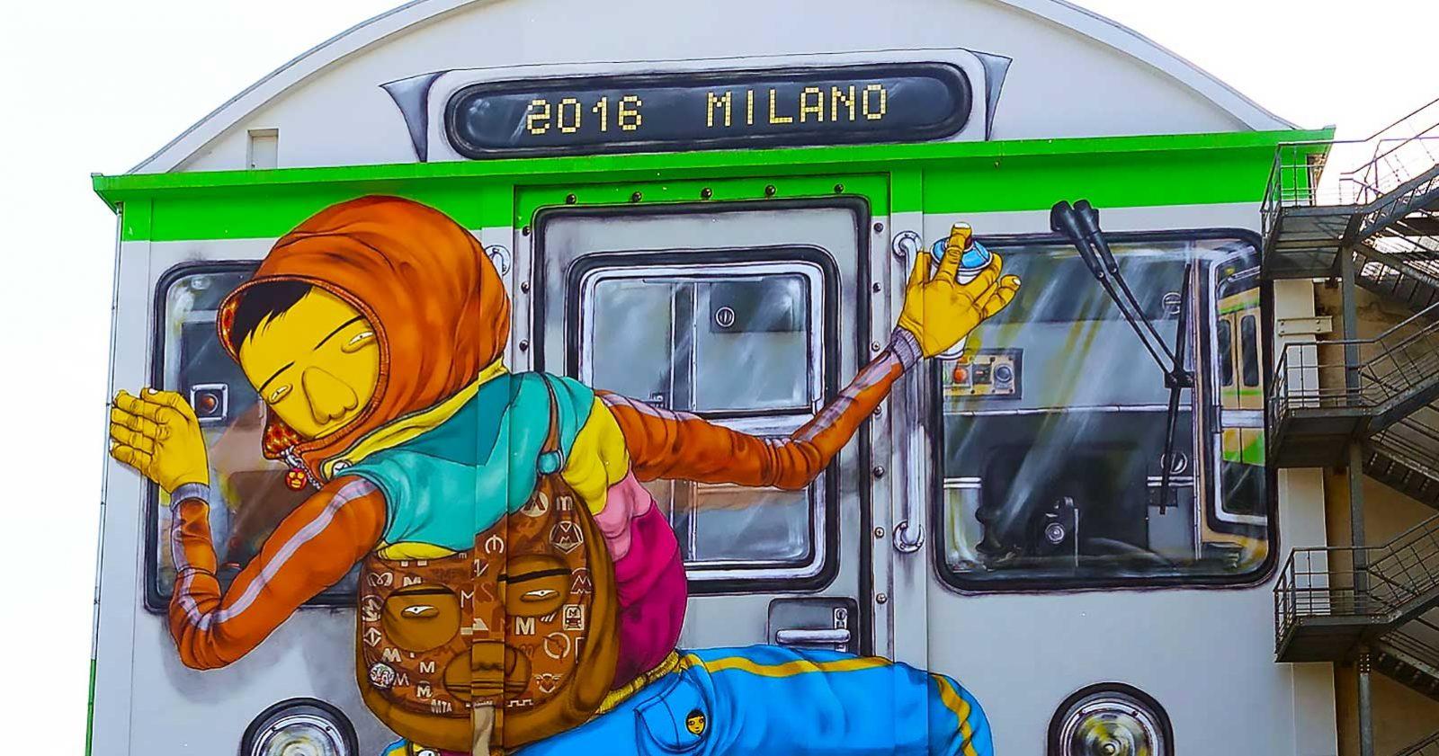 Peindre des trains... sur les murs