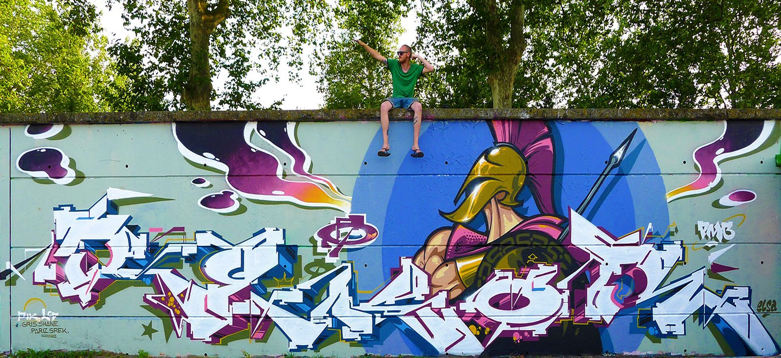 Graffiti ou tatouage, Rekor met tout le monde d'accord