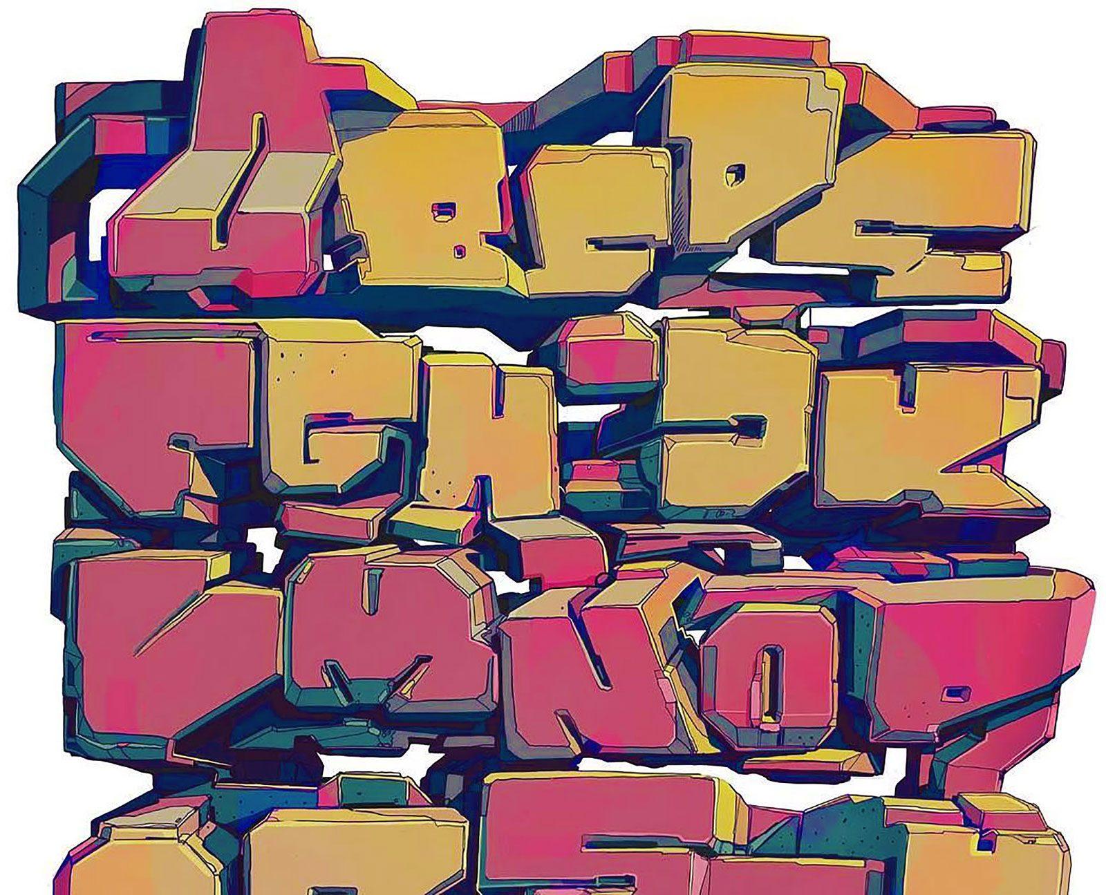 Abécédaires graffiti: le retour de la vengeance