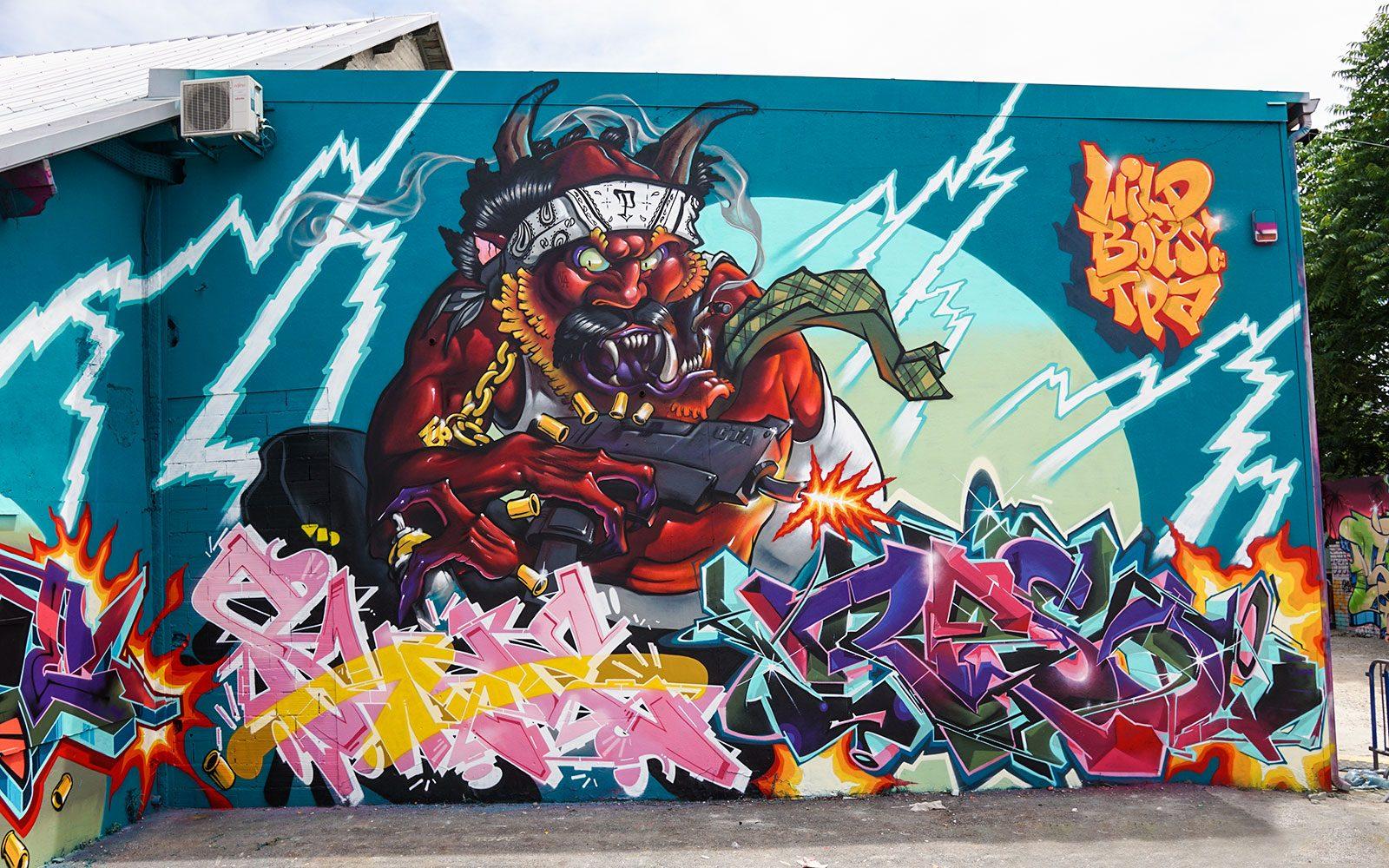 Open Summer Festival 2019:  du Graffiti en mode canicule