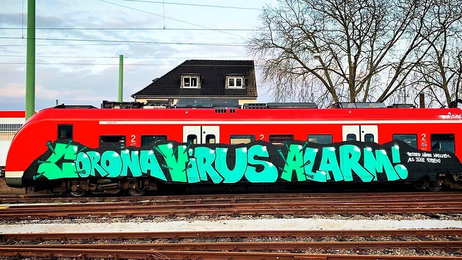 Graffiti virus ou Corona virus?